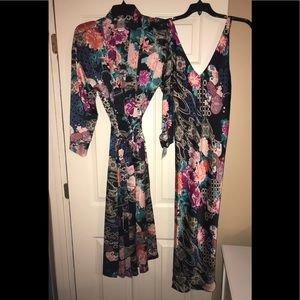 "NWT💚NATORI💚""Dreamy"" Silky Charmeuse Robe & Gown"